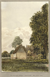 The Bailiff's Cottage, Landwade, May 22nd 1848